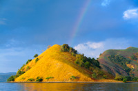 Rainbow in the Komodo National Park