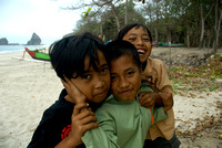 Cute Kids From WAtu Ulo, Jember, East Java, Indonesia