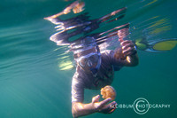 Snorkeling With Stingless and Clear Water Jellyfish at Togean Island, Indonesia