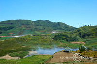 Dieng, crater