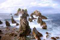 Arrangement of spectacular rocks, Lampung's hidden paradise