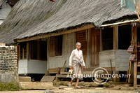 Old Women infront of Her House in Kampung Naga
