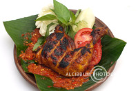 Delicious Griled Chicken with Sambal Sauce