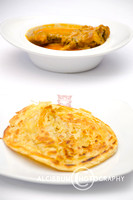 Roti Cane and Chicken Curry from Aceh, Indonesia
