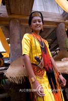 The Torajan Traditional Costume, Sulawesi, Indonesia