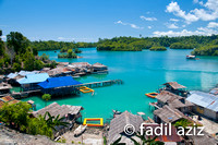 Majo Village in Togean, Central Sulawesi