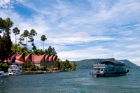 Hotel & Ferry in Lake Toba