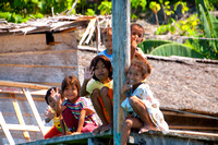 Innocent Face of The Children From Togean Island, Indonesia