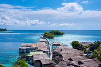 Wonderful Scenery of Togean Island, Sulawesi, Indonesia