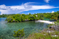 Beautiful View of Poyalisa Island With Crystal Clear Seawater an