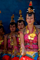 traditional performance of Wakatobi Islands