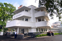 An art deco building in Bandung now become a bank office
