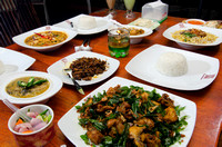 Various Indonesian Traditional Dish