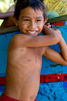 Boy from Batuputih village, Tangkoko