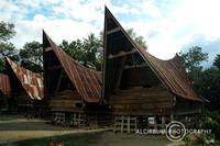 Traditional houses of Samosir
