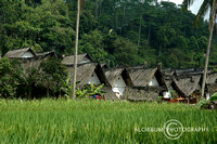 View of Kampung Naga The Traditional Village in Indonesia