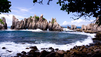 Sharp rocks called Gigi Hiu (Shark's Teeth) is Lampung's best kept secret