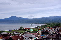 Beautiful tiny town of Krui in Lampung's west coast