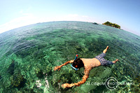 Snorkeling in Samalona, South Sulawesi