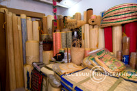 Lampit(Rattan Mat) Traditional Craft from Kalimantan, Indonesia