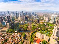 New Face and New Icon of Jakarta in a Bright Day