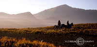 Horse riding at Mount Bromo, East Java, Indonesia