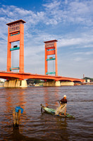 The other side of Palembang.
